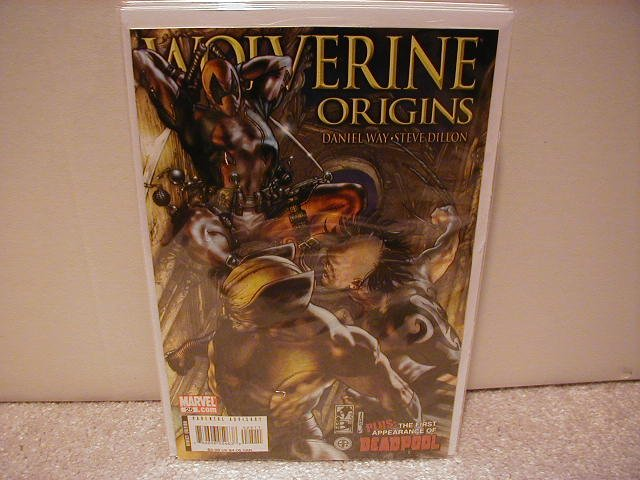 WOLVERINE ORIGINS # 25 NM (2008)