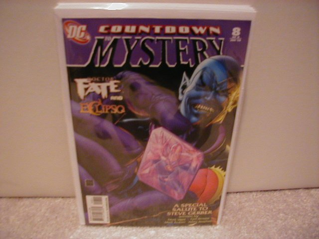 COUNTDOWN TO MYSTERY # 8 NM (2008)