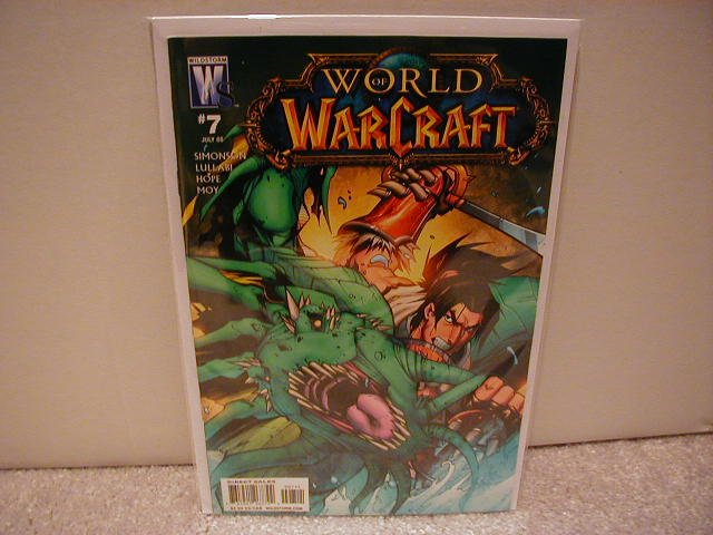 WORLD OF WARCRAFT # 7 NM (2008) (COVER B)