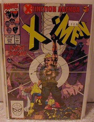 UNCANNY X-MEN #270 VF/NM X-TINCTION AGENDA PART 1