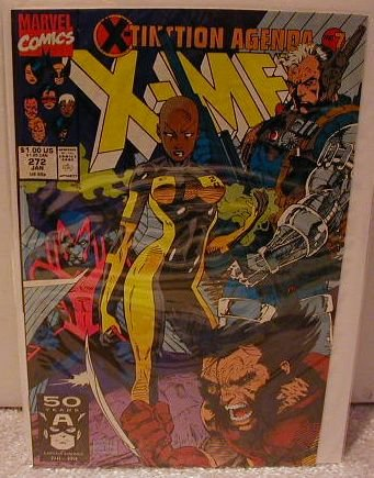 UNCANNY X-MEN #272 VF- X-TINCTION AGENDA PART 7
