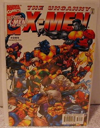 UNCANNY X-MEN #385 VF/NM