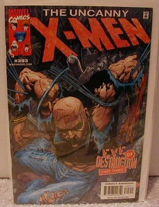 UNCANNY X-MEN #393 VF/NM
