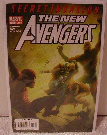 NEW AVENGERS #41 NM (2008) SECRET INVASION
