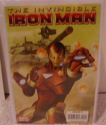 INVINCIBLE IRON MAN #2 NM(2008) �A� COVER