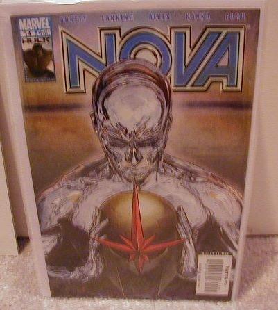 NOVA #14 NM(2008) SILVER SURFER