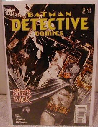 DETECTIVE COMICS #845 NM(2008) BATMAN