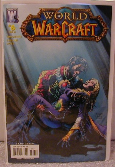 WORLD OF WARCRAFT # 6 NM (2008) (COVER A)