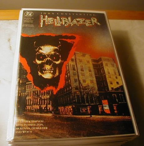 HELLBLAZER #46 VF/NM