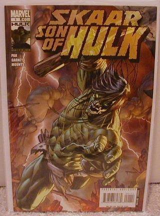 """SKAAR SON OF HULK #1 """"A"""" COVER  NM(2008)"""
