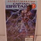 CAPTAIN BRITAIN AND MI13  #2 NM (2008) SECRET INVASION