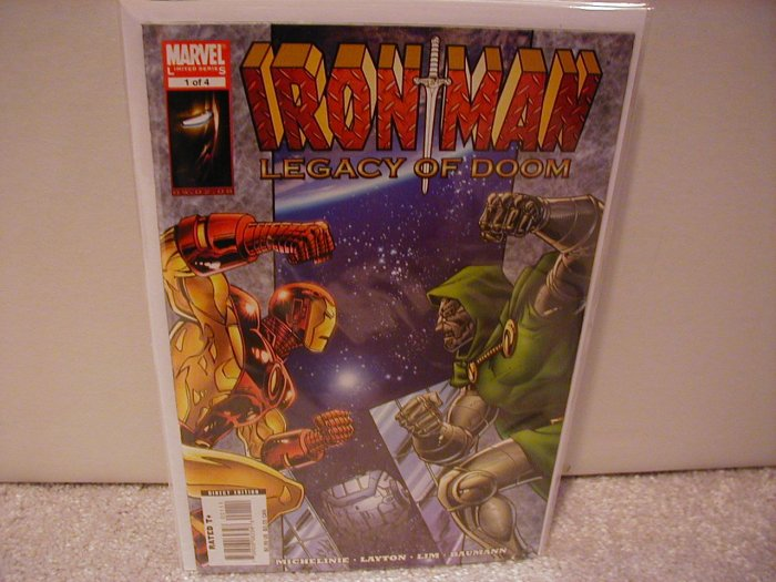 IRON MAN LEGACY OF DOOM #1 NM (2008)
