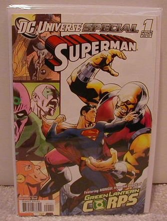 DC UNIVERSE SPECIAL SUPERMAN #1  NM (2008)