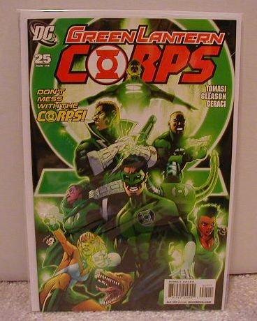 GREEN LANTERN CORPS #25 NM (2008)