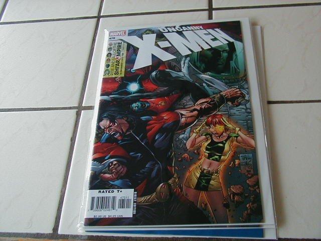 UNCANNY X-MEN #475 NM