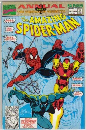 AMAZING SPIDER-MAN ANNUAL #25 NM