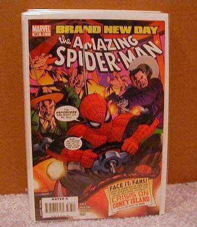 AMAZING SPIDER-MAN #563  NM(2008)  BRAND NEW DAY
