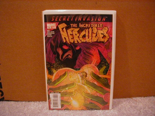 THE INCREDIBLE HERCULES #118 NM (2008)