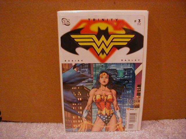 TRINITY #3 NM (2008)SUPERMAN BATMAN WONDER WOMAN