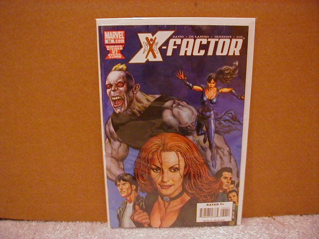 X-FACTOR #32 NM (2008) DIVIDED WE STAND