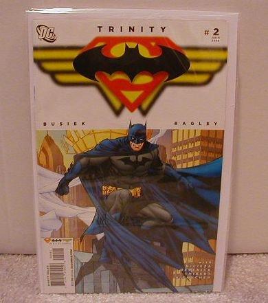 TRINITY #2 NM(2008) SUPERMAN BATMAN WONDER WOMAN