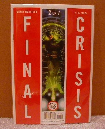 FINAL CRISIS #2 �B� COVER  NM(2008)