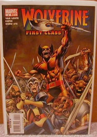 WOLVERINE FIRST CLASS #4  NM(2008)