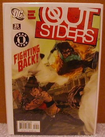 OUTSIDERS #35 NM(2003) YEAR ONE