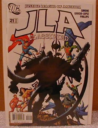 JLA CLASSIFIED #21 NM(2004)