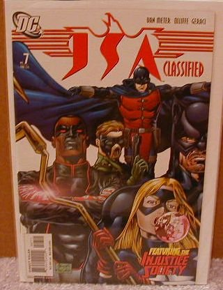 JSA CLASSIFIED #7 NM(2005)