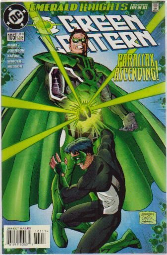 GREEN LANTERN #105 NM(2000) PARALLAX