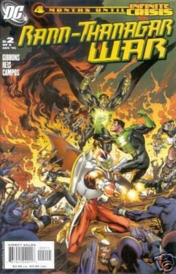 RANN-THANAGAR WAR #2 NM (2003) HAWKWOMAN,GREEN LANTERN,ADAM STRANGE, CAPTAIN COMET
