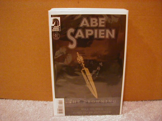 ABE SAPIEN THE DROWNING #5 NM (2008) (HELLBOY) DARK HORSE COMICS