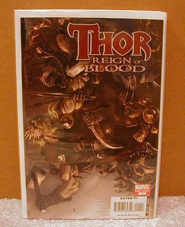 THOR REIGN OF BLOOD ONE-SHOT NM (2008)