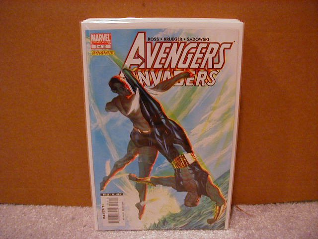 AVENGERS INVADERS #3 NM (2008)
