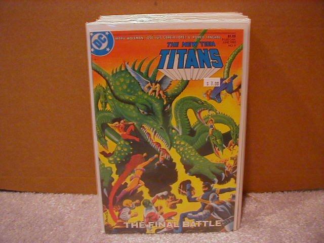 NEW TEEN TITANS #9 VF/NM(1984)