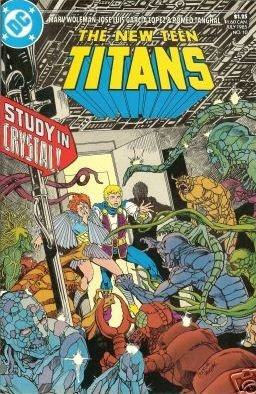 NEW TEEN TITANS #10 VF/NM(1984)
