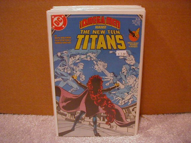 NEW TEEN TITANS #16 VF/NM (1984)