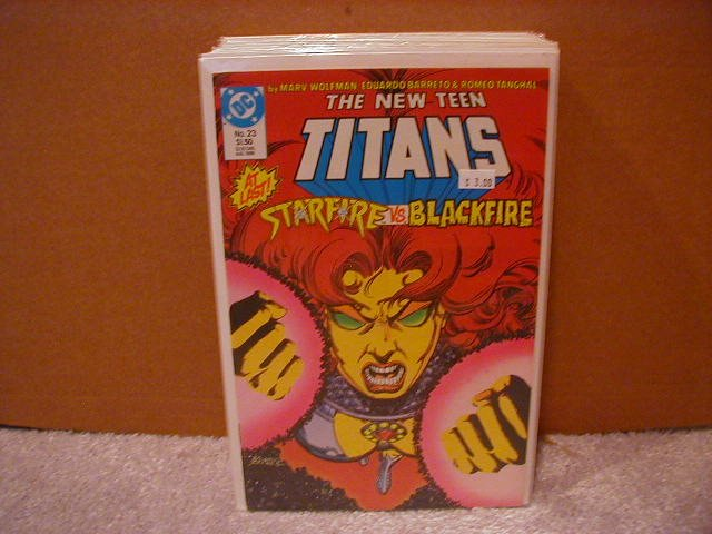 NEW TEEN TITANS #23 VF/NM (1984)