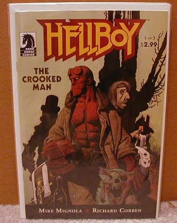 HELLBOY THE CROOKED MAN #1 0F 3 NM (2008)
