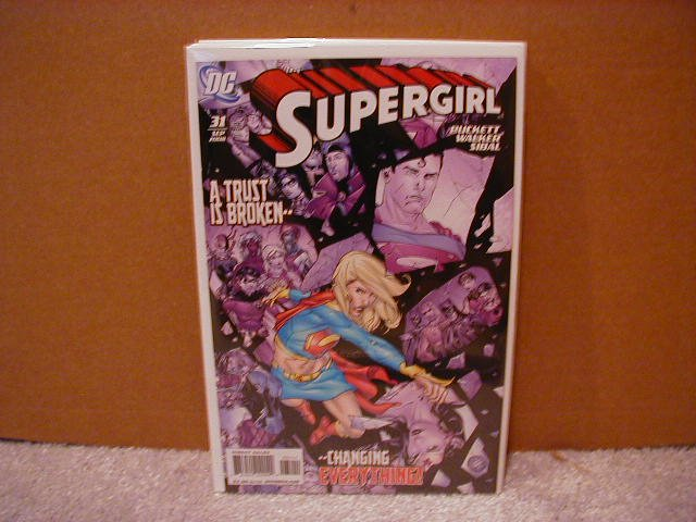 SUPERGIRL #31 NM (2008)