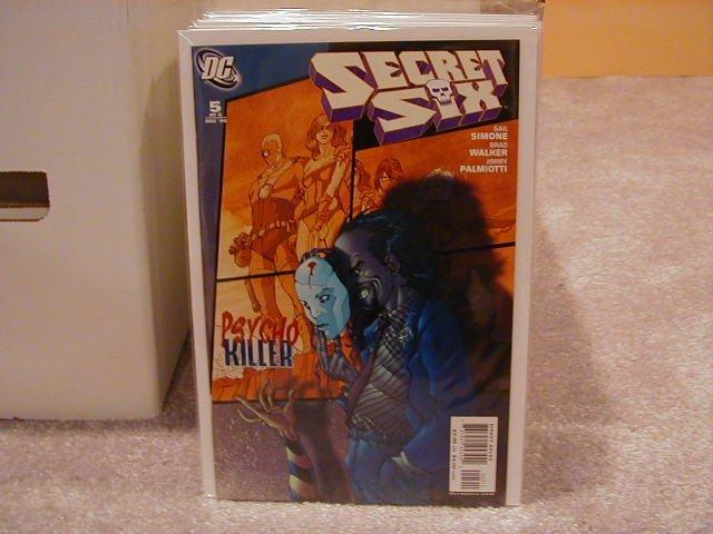 SECRET SIX #5 NM (2006)