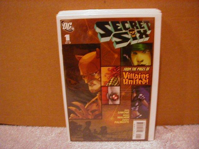 SECRET SIX #1 NM (2006)