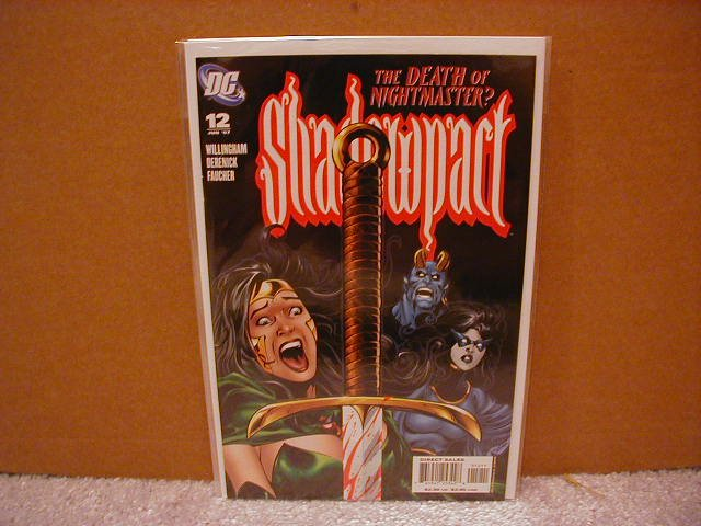 SHADOWPACT #12 NM (2006)