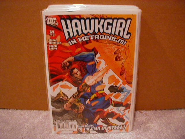 HAWKGIRL #64 NM (2007)