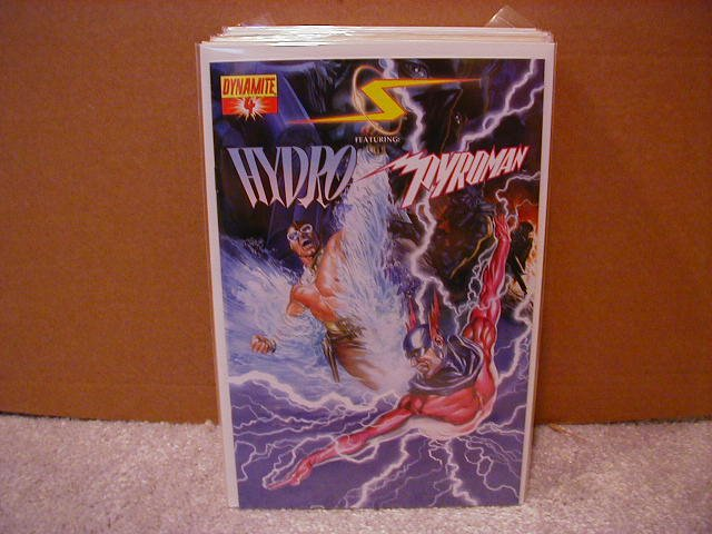 PROJECT SUPERPOWERS #4 NM (2008) HYDRO & PYROMAN