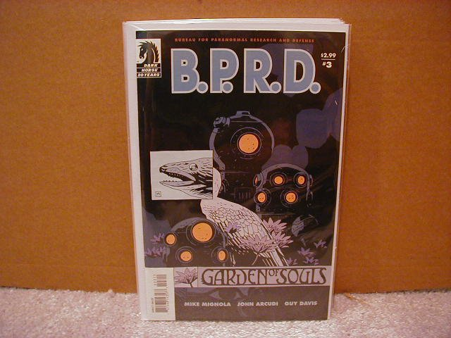 B.P.R.D. GARDEN OF SOULS #3 NM (2008) DARK HORSE COMICS