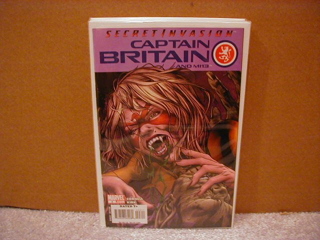 CAPTAIN BRITAIN AND MI13 #3 NM(2008) SECRET INVASION
