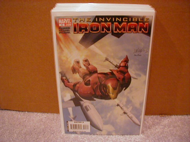 INVINCIBLE IRON MAN  #3 NM (2008) COVER �A�