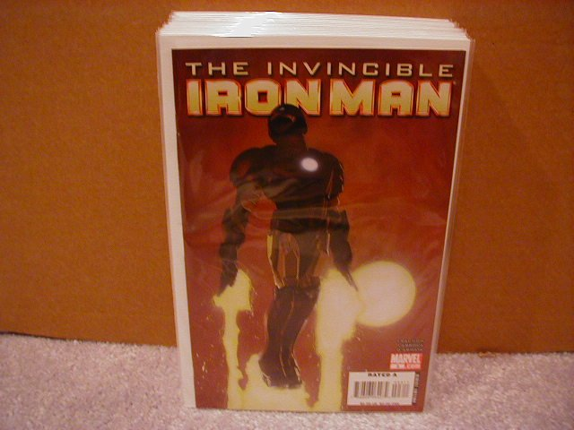 INVINCIBLE IRON MAN  #3 NM (2008) COVER �B�